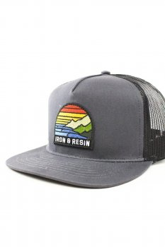 Casquette Iron and Resin Outlook charcoal