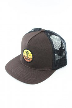 Casquette Iron and Resin Sundowner brown