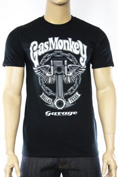 T-shirt Gas Monkey Garage Big Piston