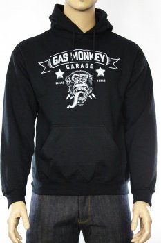 Hoodie Gas Monkey Garage Blood, Sweat & Beers