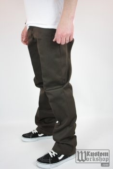 Pantalon Dickies Original 874 Dark brown Work pant