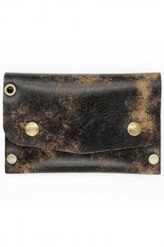 Rusty Butcher dropout wallet vintage