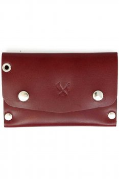 Rusty Butcher dropout wallet blood red