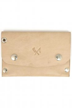 Rusty Butcher dropout wallet naturel