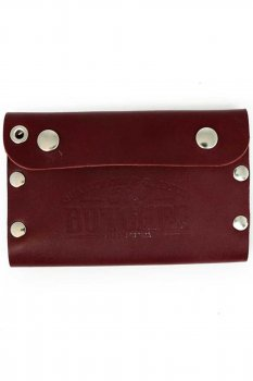 Rusty Butcher deadbeat wallet blood red