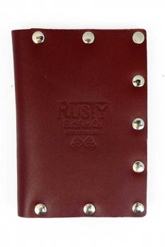 Rusty Butcher collector wallet blood red