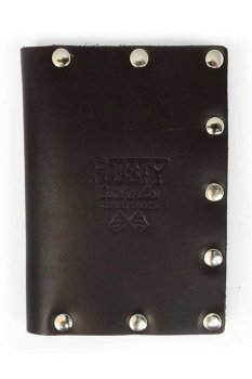 Rusty Butcher collector wallet brown