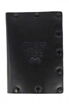 Rusty Butcher collector wallet murdered out
