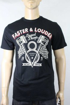 T-shirt King Kerosin FASTER&LOUDER