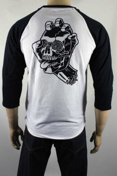 T-shirt Santa Cruz Baseball Screaming Skull