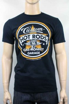 T-shirt Gas Monkey Garage Custom Hot Rod
