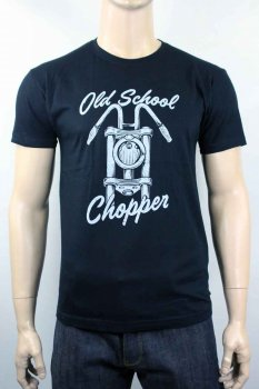 T-shirt Génération Ink and Kustom Old School Chopper