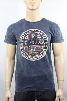 T-shirt West Coast Choppers Drags Vintage