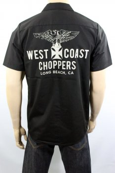 Chemise West Coast Choppers Eagle Workshirt