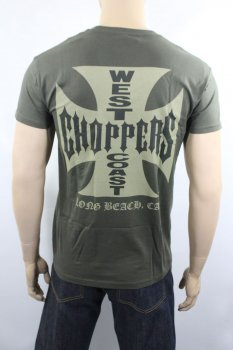 T-shirt West Coast Choppers OG cross green
