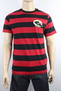 T-shirt stripes crow King Kerosin