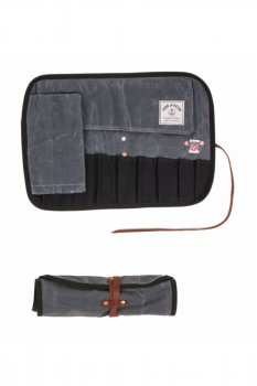 Tool Roll Iron and Resin charcoal