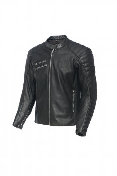 Veste en cuir noir Raptor West Coast Choppers