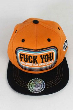 Casquette King Kerosin fu*k you