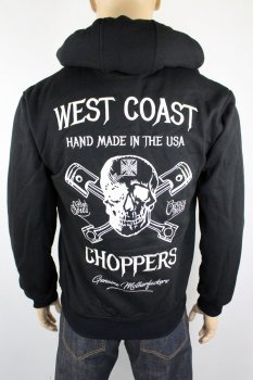 Hoodie West Coast Choppers High Speed