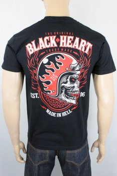 T-shirt Black heart hatter