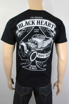 T-shirt Black heart roadster
