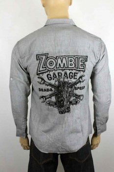Chemise King Kerosin Zombie garage