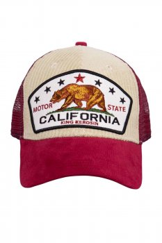 Casquette King kerosin california velour