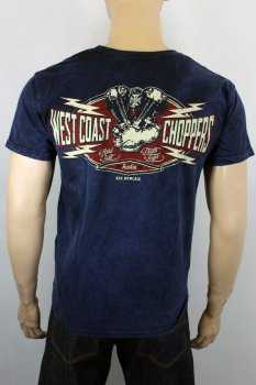 T-shirt  West Coast Choppers Sparkplug