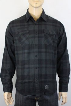 Chemise West Coast Choppers La bomba Herringbone flannel