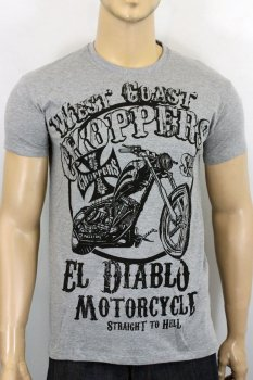 T-shirt  West Coast Choppers El Diablo