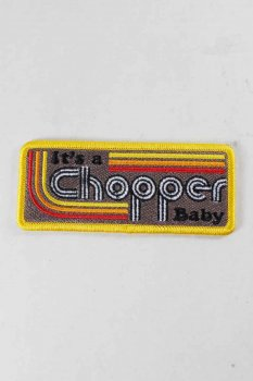 Patch it's a Choppers Baby