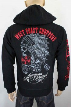 Hoody zippé West Coast Chopper Chief