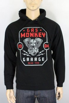 Sweat-shirt Gas Monkey Garage Twin engine