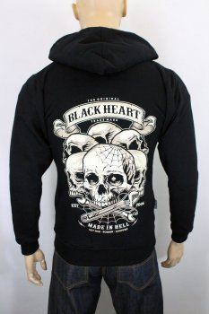 Sweat Black heart skull hill