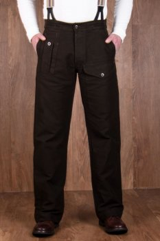 Pike Brother 1952 Pattern Trousers Moleskin soil brown