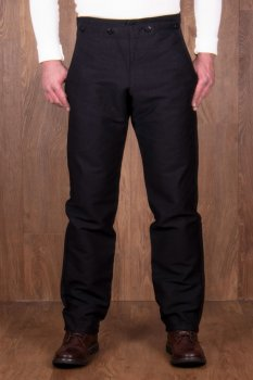 Pike Brother 1935 Machinist Trousers Elephant Skin black