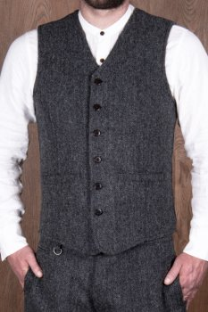 Pike Brother 1905 Hauler Vest Dundee grey