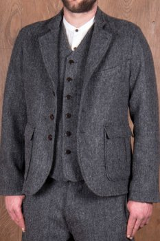 1938 Cricketeer Jacket Dundee grey