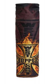 Tube  West Coast Choppers flame