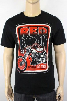 T-shirt  King Kersin Red barron speedshop