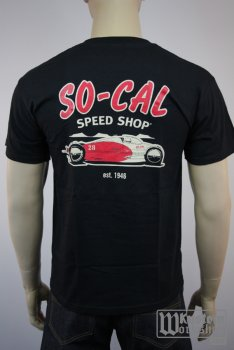 T-shirt So-Cal Speed Shop Belly Tank black