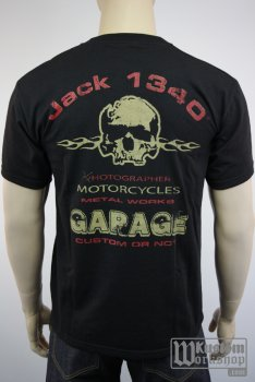 T-shirt Jack 1340 motorcycle photographe