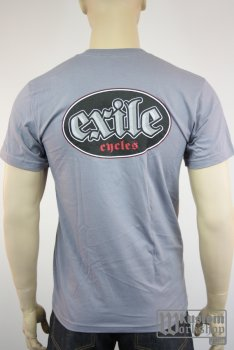 T-shirt Exile Cycles logo