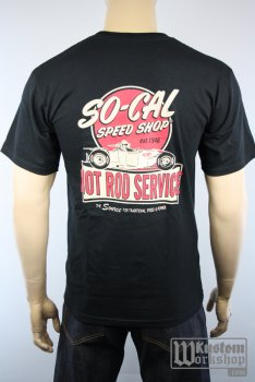 T-shirt So-Cal Speed Shop Hot Rod service