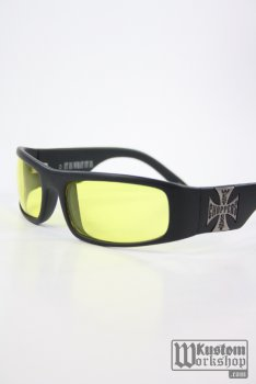 Lunettes West Coast Choppers  Eyewear jaune