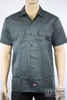Chemise Dickies classic work shirt Grise