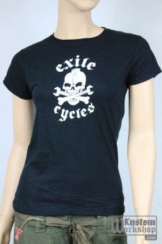 T-shirt Exile Cycles Girl