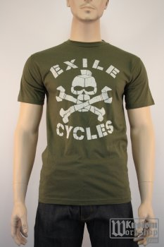 T-shirt Exile Cycles The Menace army