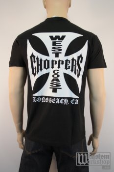 T-shirt  West Coast Choppers classic black